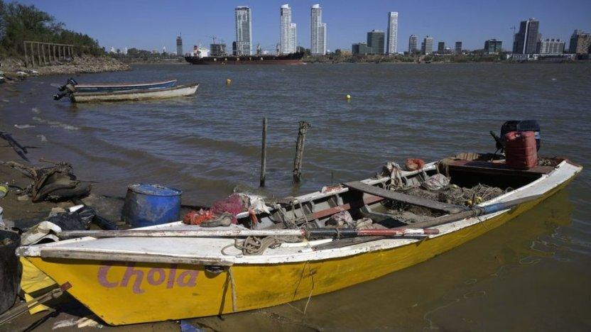 120409720 gettyimages 1234904738 - Las impactantes imágenes de la mayor sequía en 77 años del río Paraná, el segundo más largo de Sudamérica