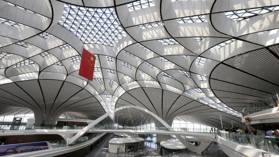北京大興國際機場開張 展示中國崛起的工業能力