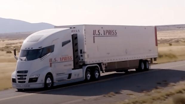 Nikola's semi-truck