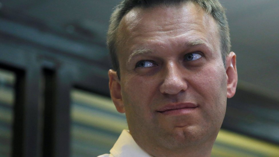 Russian anti-corruption campaigner and opposition figure Alexei Navalny attends a hearing at the Lublinsky district court in Moscow, Russia on 1 August, 2016