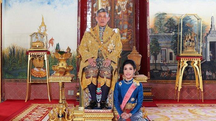 El rey Maha Vajiralongkorn