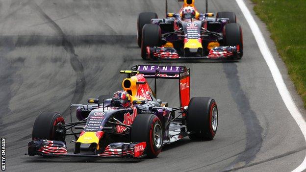 Red Bull cars