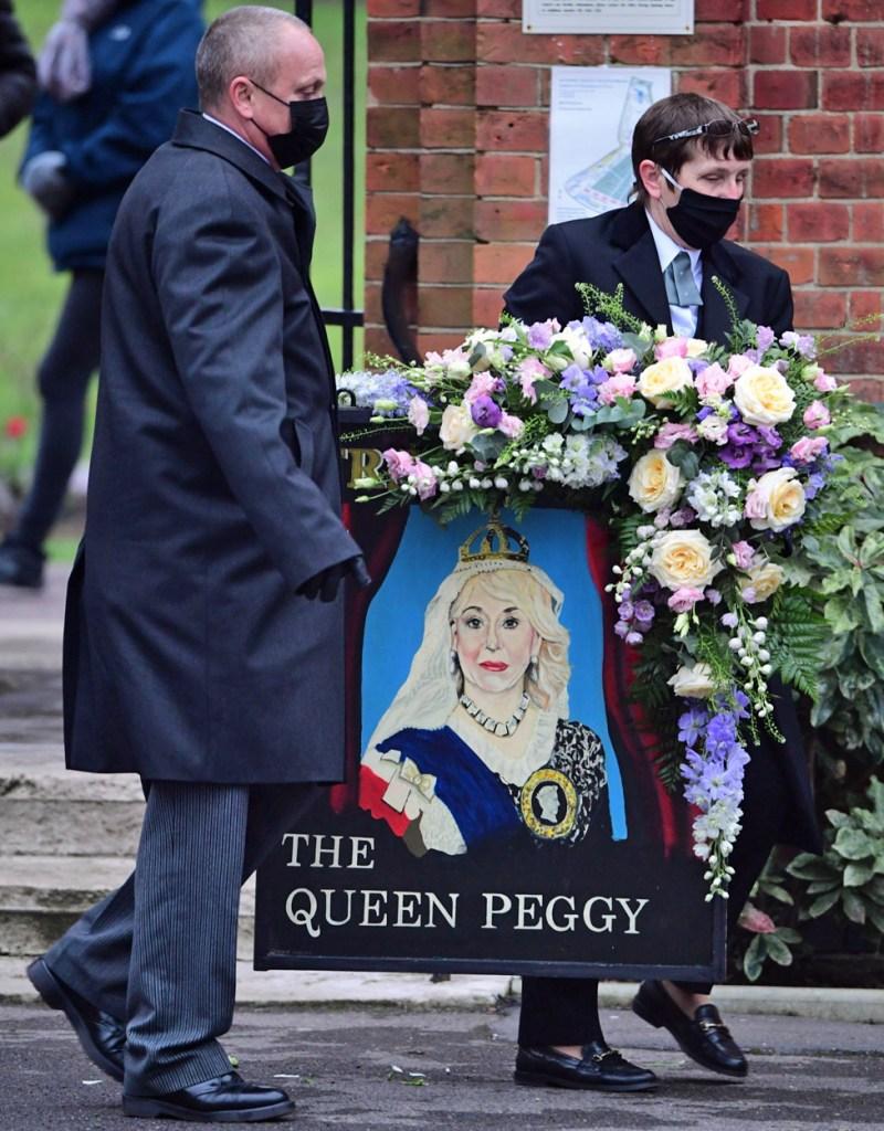 Dame Barbara Windsor tribute at her funeral