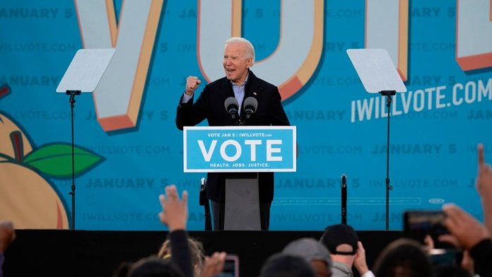 Joe Biden campaigns in Atlanta