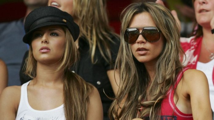 Victoria Beckham and Cheryl Tweedy