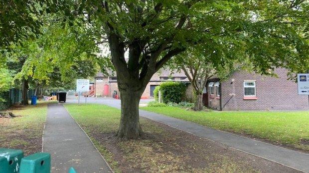 Gosforth Park First School exterior