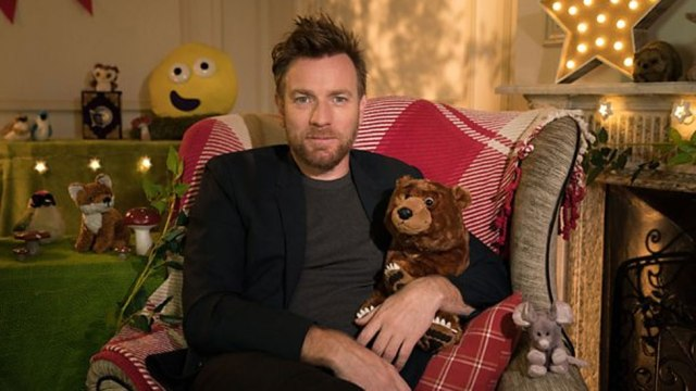Ewan McGregor latest star to read CBeebies Bedtime Story