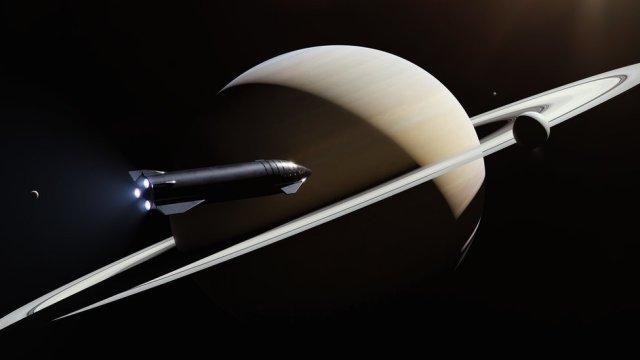 Satürn'deki Yıldız Gemisi