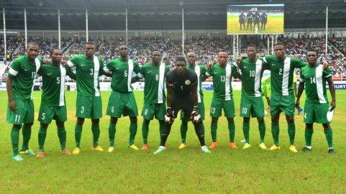 The Nigeria under-23 team