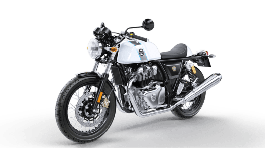 Royal Enfield's Continental GT 650 - Ice Queen