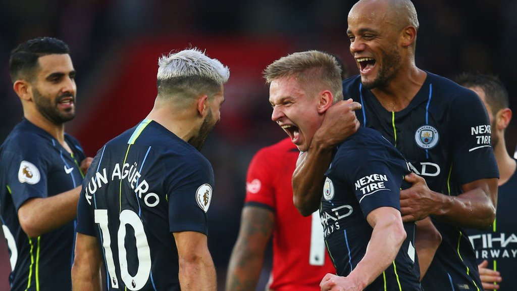 Image result for man city southampton