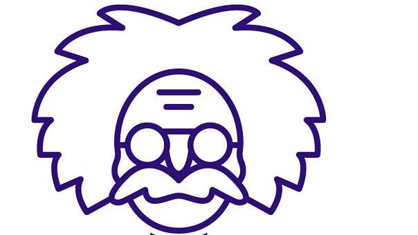 Dibujo de Einstein