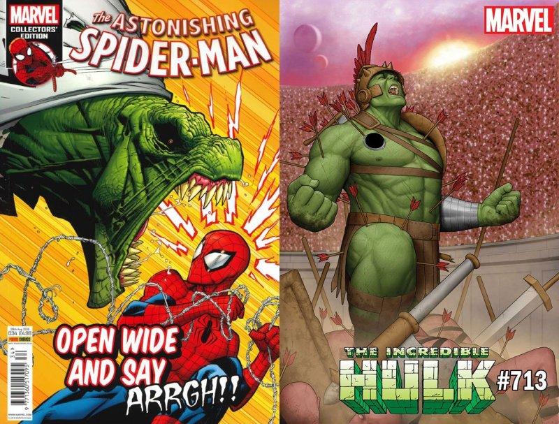 Spajdermen i Hulk