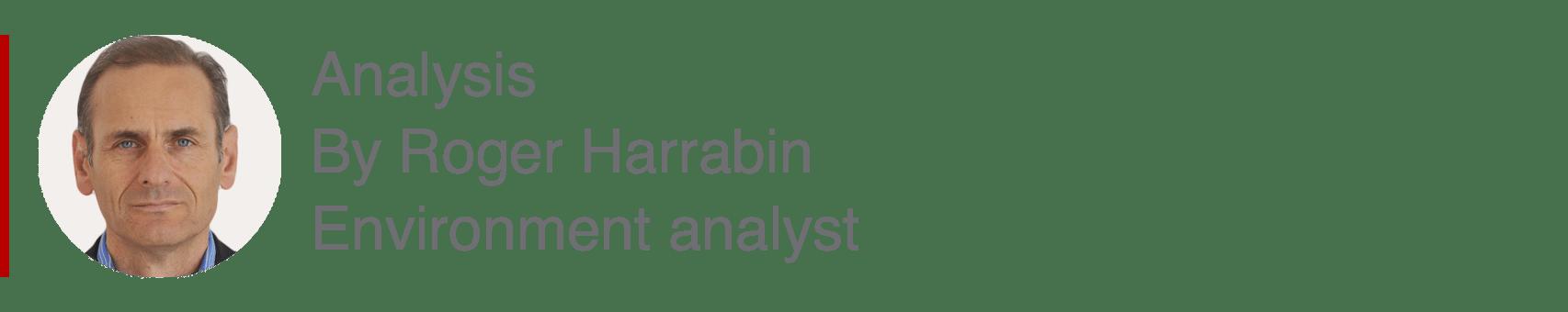 Analysis box by Roger Harrabin, Environment analyst