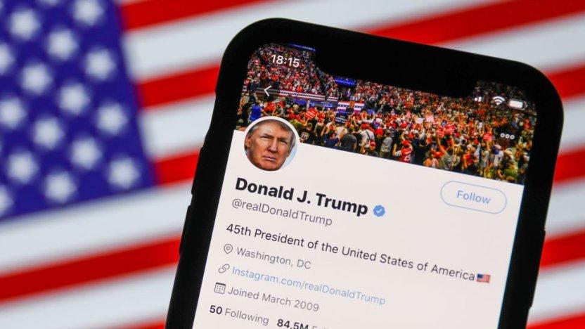 116490988 gettyimages 1227889636 - Cómo las redes sociales silenciaron a Trump (y el debate sobre la libertad de expresión que generó)