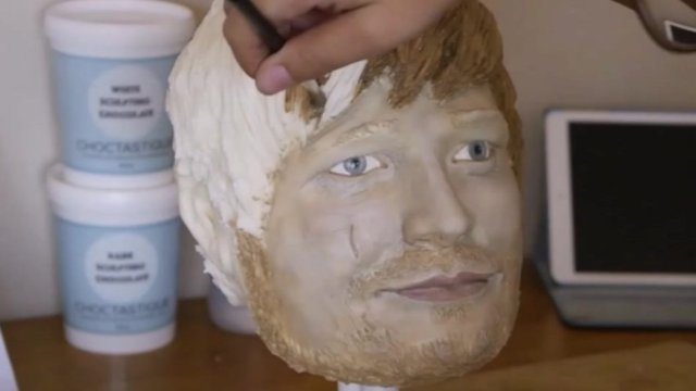 Life-size Ed Sheeran cake gives fans something to chew on