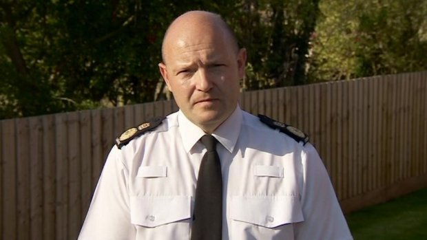 Chief Constable Craig Gilford of Nottinghamshire Police