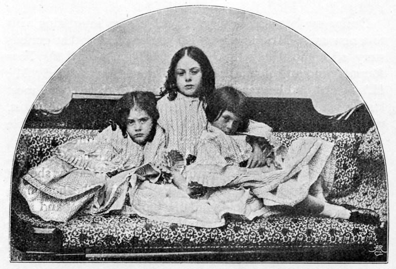 Las hermanas Liddell.