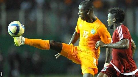 Ivory Coast international Max Gradel