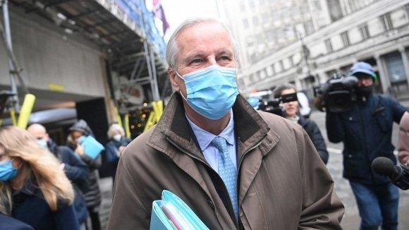 Michel Barnier in London