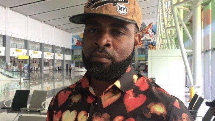 JohnPaul Emeka, passenger on international flight