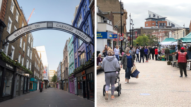 Carnaby Street and Bromley High Street