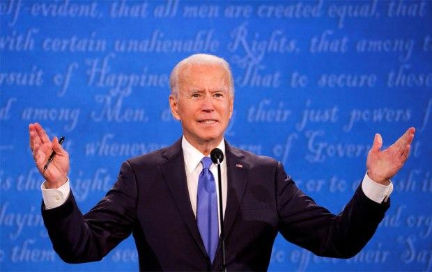 Joe Biden debates Donald Trump