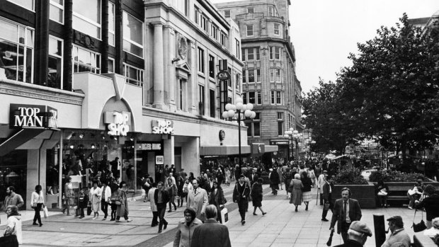 Archive picture of a Topshop/Topman store in Liverpool