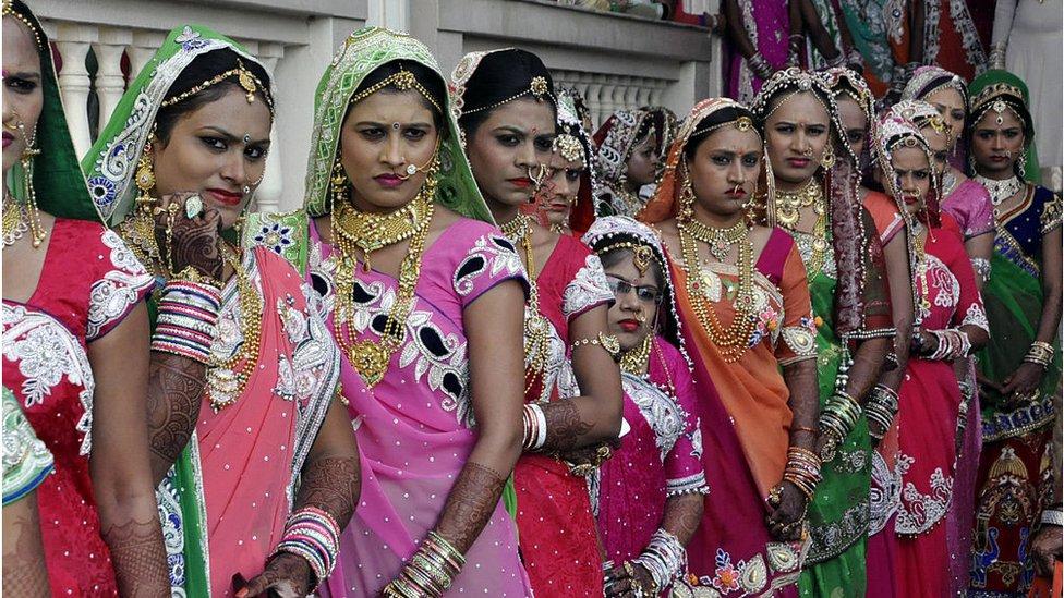 Novias en India