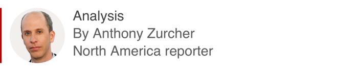एंथोनी ज़ुचर, उत्तरी अमेरिका के रिपोर्टर द्वारा विश्लेषण बॉक्स