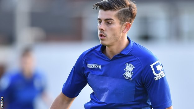 Bbc Sport Alex Jones Grimsby Town Sign Birmingham City