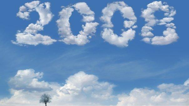 2008 en nubes