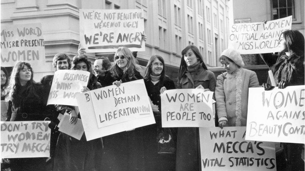 Manifestación de mujeres