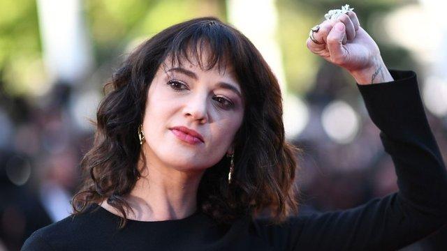 Harvey Weinstein accuser points finger at Cannes