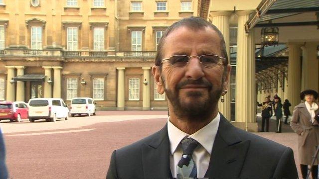 Former Beatle Ringo Starr: I'll wear my medal at breakfast