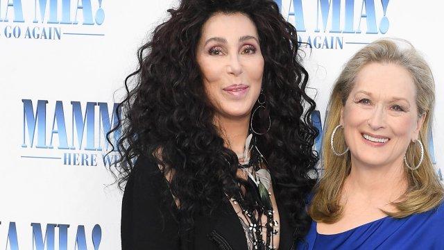 Mamma Mia stars attend London premiere