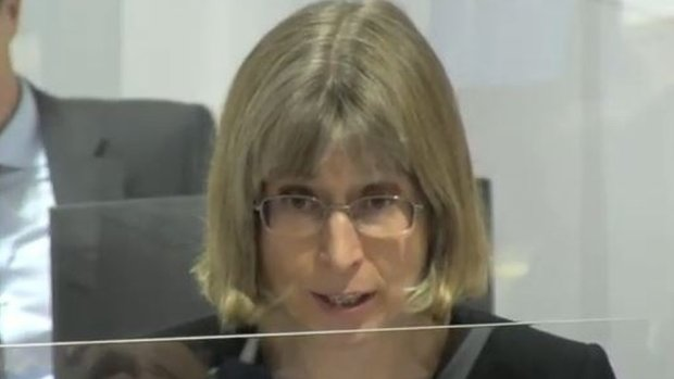 Cathryn McGahey QC read the opening statement on behalf of MI5 and the Home Office