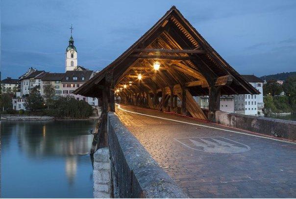 Un puente de Solothurn