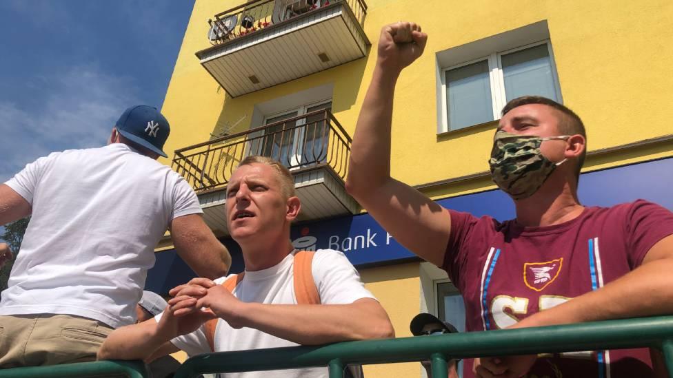 Manifestantes Anti-LGBT