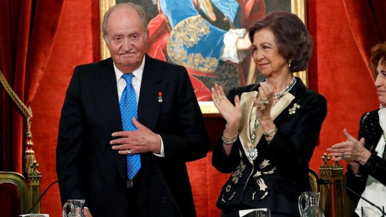 El rey emérito, Juan Carlos I y la reina Sofía celebran el 80 cumpleaños del primero en marzo de 2018