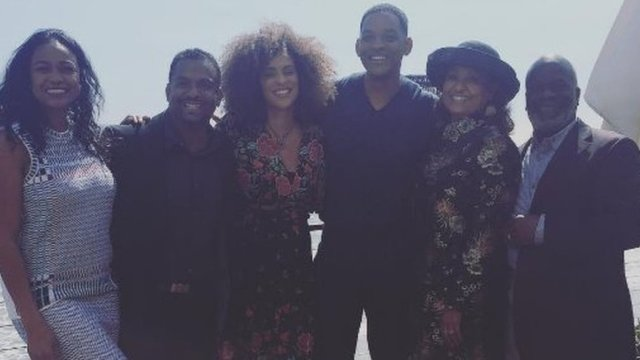 Will Smith reunites with Bel-Air pals