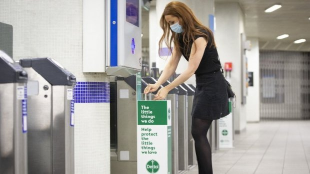Commuter sanitizer