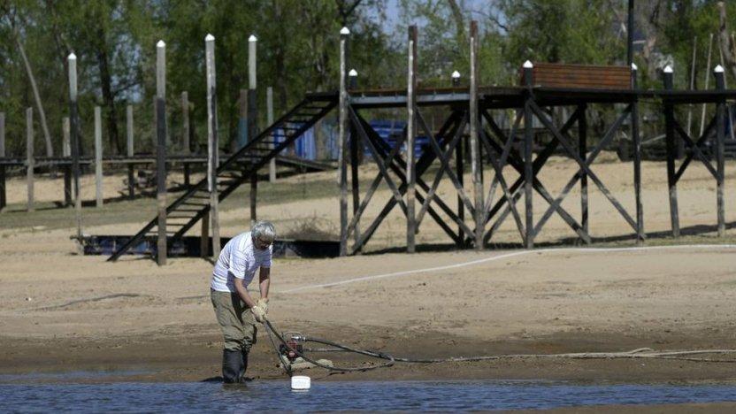 120409722 gettyimages 1234968590 - Las impactantes imágenes de la mayor sequía en 77 años del río Paraná, el segundo más largo de Sudamérica