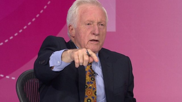 Question Time host Dimbleby boots out audience member
