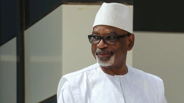 File photo of deposed former President Ibrahim Baubkar.