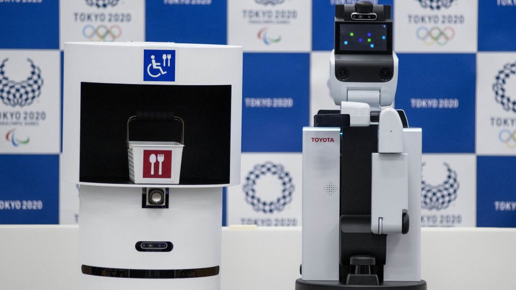 1bcab0bc6cd Tokyo 2020: Robots to feature at Olympic and Paralympic Games | The ...