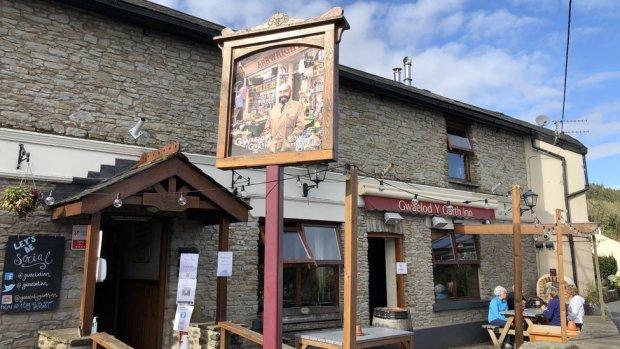 The Gwaelod-y-Garth Inn