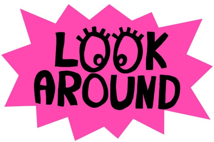 Look Around by Michael Landy