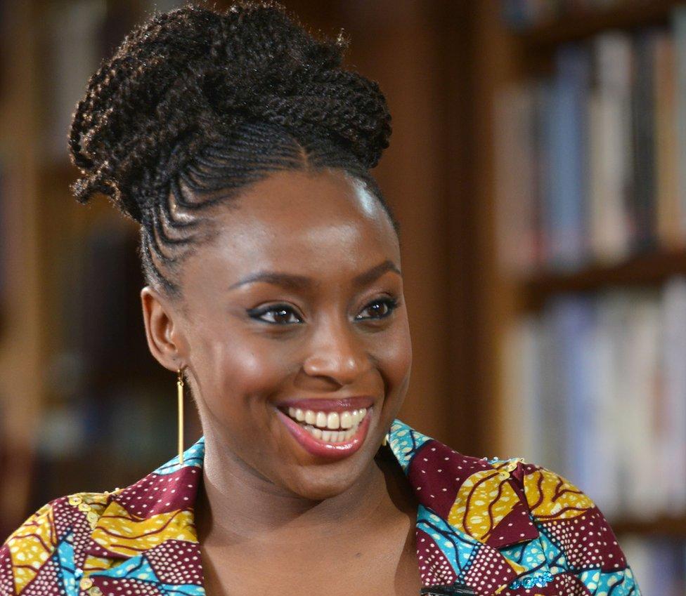 Chimamanda Adichie Winner of Winners
