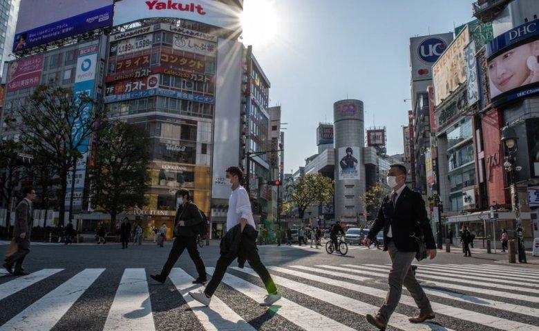 cruce en Tokio.